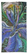 Light Into The Bloom Beach Towel