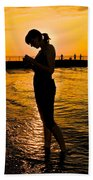 Light Of My Life Beach Towel by Frozen in Time Fine Art Photography