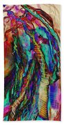 Light Strands Beach Towel