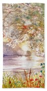 Light Through The Pass Beach Towel by Marilyn Smith