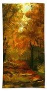 Lighted Trail Beach Towel