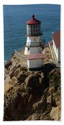 Lighthouse At Point Reyes Beach Towel