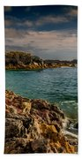 Lighthouse Bay Beach Towel