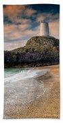 Lighthouse Beach Beach Towel