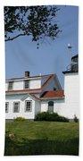 Lighthouse Fort Point Beach Sheet