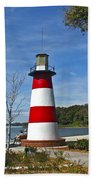 Lighthouse In Mount Dora Beach Towel