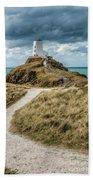 Lighthouse Path Beach Towel