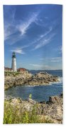 Lighthouse Point Beach Towel