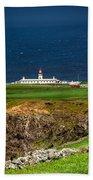 Lighthouse Ponta Do Albernaz Beach Towel