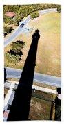 Lighthouse Shadow Beach Towel