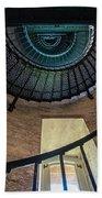 Lighthouse Stairs Beach Towel