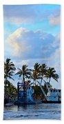 Lighthouse Sunrise Beach Towel