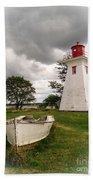 Lighthouse Victoria By The Sea Pei Beach Towel