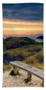 Lighthouse View Beach Towel