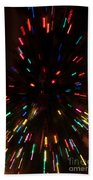 Lights In Motion Beach Towel
