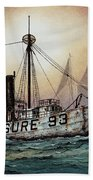 Lightship Swiftsure Beach Towel