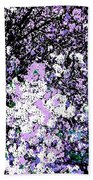 Lilac Crepe Myrtle Bloom  Beach Towel
