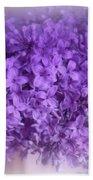 Lilac Fantasy Beach Towel