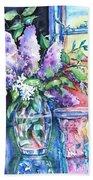 Lilac Light Beach Towel