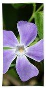 Lilac Periwinkle Beach Towel