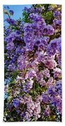 Lilac Tree Beach Towel