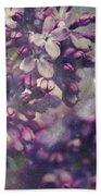 Lilac Beach Towel