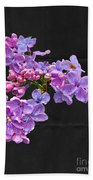 Lilacs - Perfumed Dreams Beach Towel