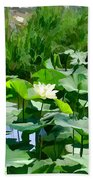 Lilly Pads Beach Towel