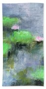 Water Lilly's  Beach Towel