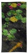 Lily 0147 - Watercolor 2 Sl Beach Sheet