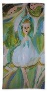 Lily Allegro Ballet Beach Towel