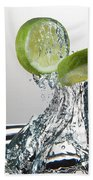 Lime Freshsplash Beach Towel