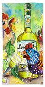 Limoncello Di Sicilia Beach Towel