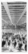 Lincoln Ball, 1865 Beach Towel