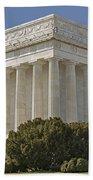 Lincoln Memorial Pillars Beach Towel
