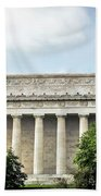 Lincoln Memorial Side View Beach Towel