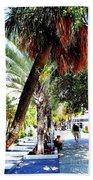 Lincoln Road In Miami Beach Beach Towel