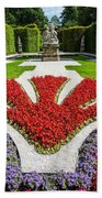 Linderhof Palace Gardens - Bavaria - Germany Beach Towel