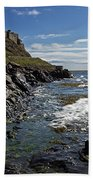 Lindisfarne Castle Beach Towel