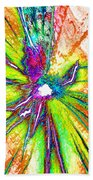 Lines Of Color Beach Towel