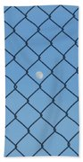 Link To The Moon Beach Towel