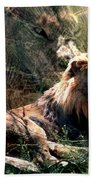 Lion Spirit Beach Towel