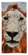 Lionart Beach Towel