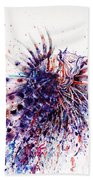 Lionfish Beach Towel