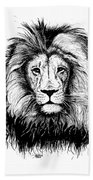 Lionking Beach Towel