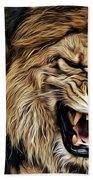 Lions Beach Towel