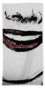 Liposuction Successful  Beach Towel by Sir Josef - Social Critic -  Maha Art