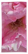 Lips Of A Rose Beach Towel