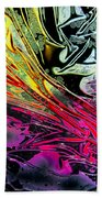 Liquid Decalcomaniac Desires 1 Beach Towel