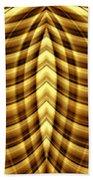 Liquid Gold 1 Beach Towel